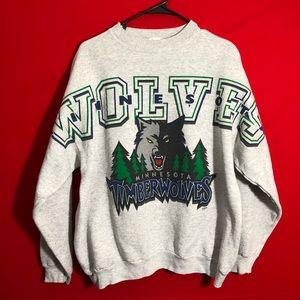 Vintage Minnesota Timberwolves sweatshirt